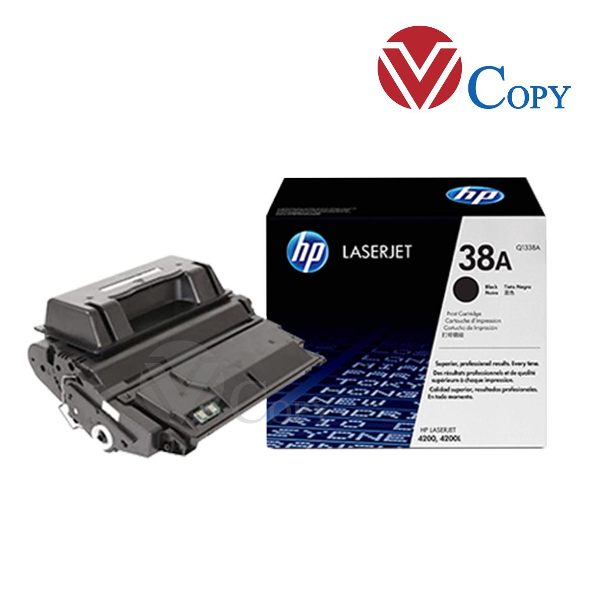 Hộp mực Thương hiệu, mực 38A dùng cho máy in HP-Laser Jet 4200 / 4200N / 4200TN  / 4200DTN / 4200DTNS / 4200DTNSL
