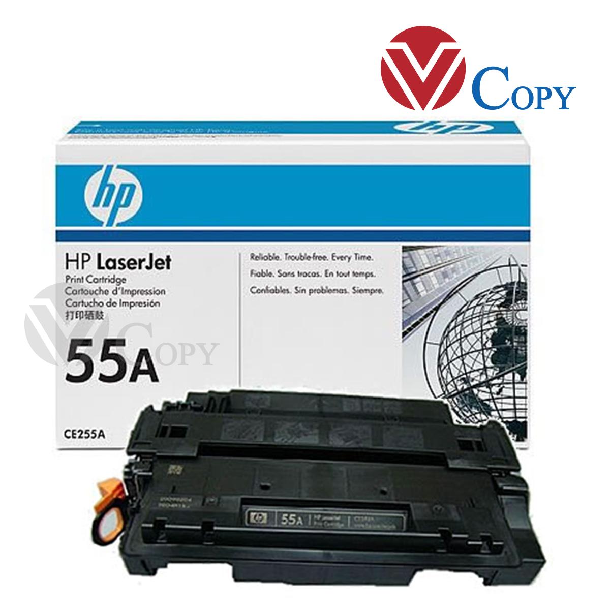 Hộp mực Thương hiệu, mực 55A dùng cho máy in HP Lasjet P3010/ P3015/ P3015D / P3015DN/ P3015X