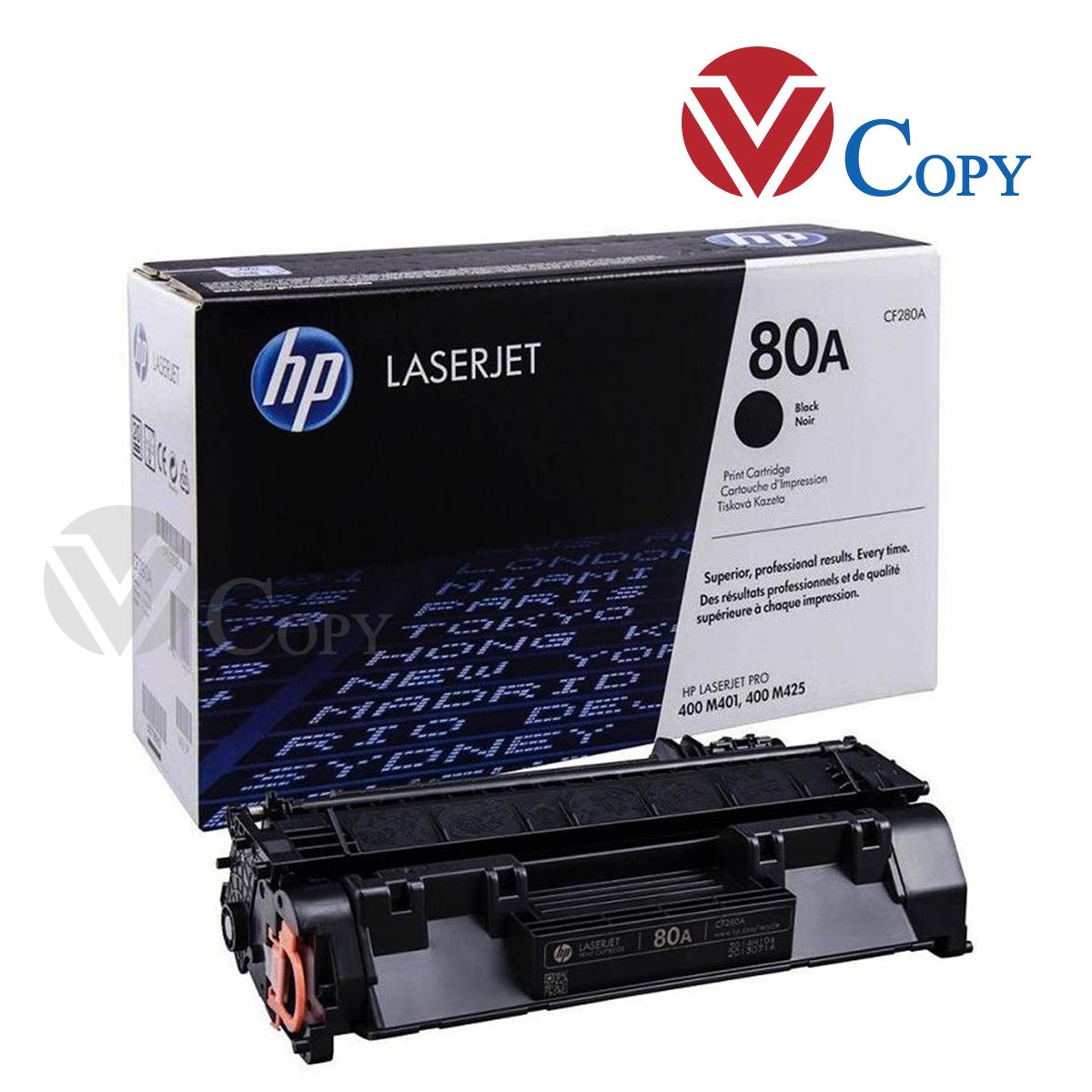 Hộp mực Thương hiệu, mực 80A dùng cho máy in HP M401D/ M401DN