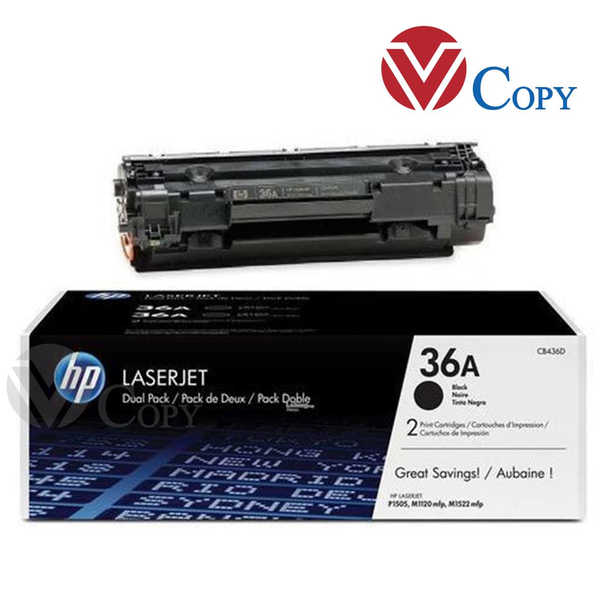 Hộp mực Thương hiệu, mực 36A- dùng cho máy in HP  P2015 / P3000 Seiten / P2015 /  P201