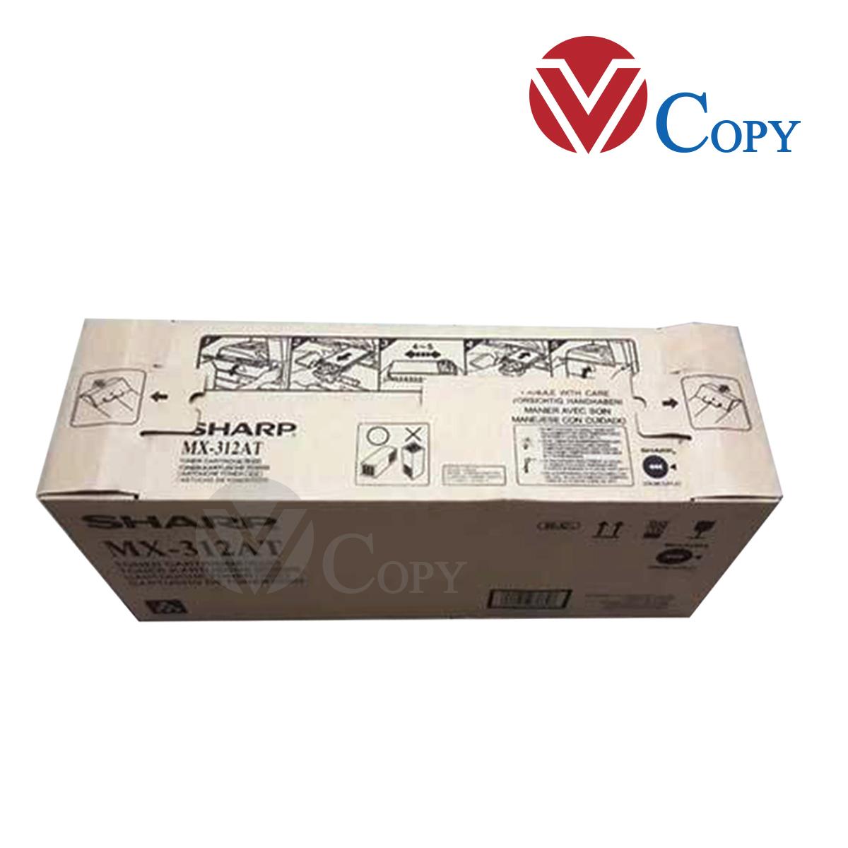 Mực Thương hiệu dùng máy photocopy Sharp AR 5726/5731 - Cụm mực AR -312AT - trọng lượng 500 gr