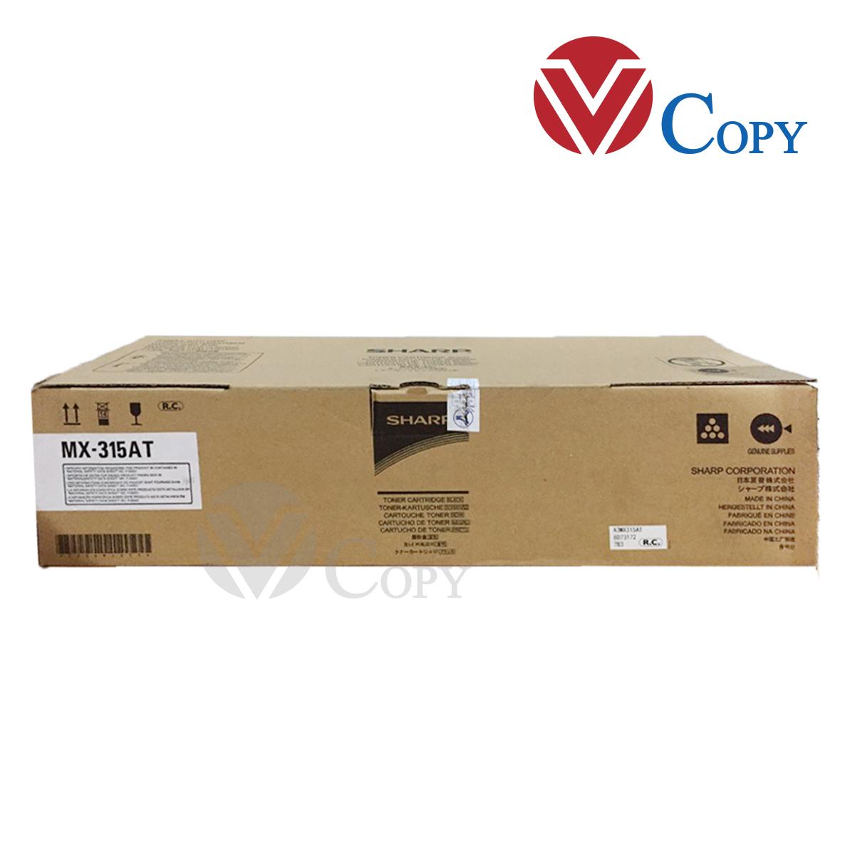 Mực Thương hiệu dùng cho máy photocopy Sharp M315N/MX-M265N (Cụm mực MX-315 AT)