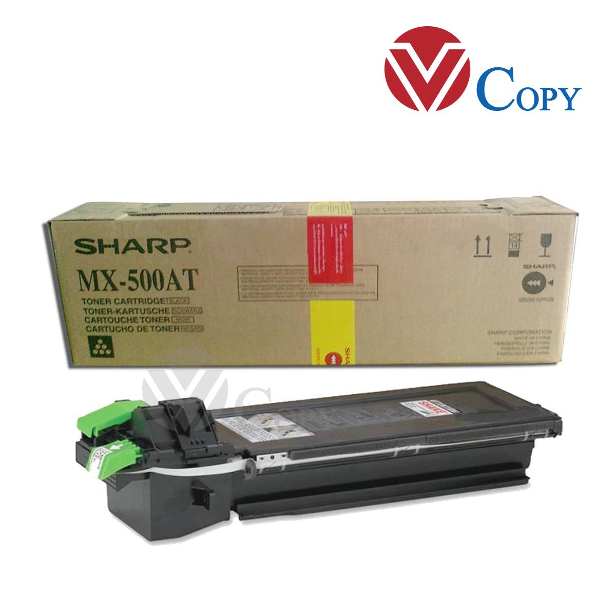 Mực Thương hiệu dùng cho máy photocopy Sharp M363U/ M453U /503U - Cụm Mực MX-500AT - Trọng lượng 500gr