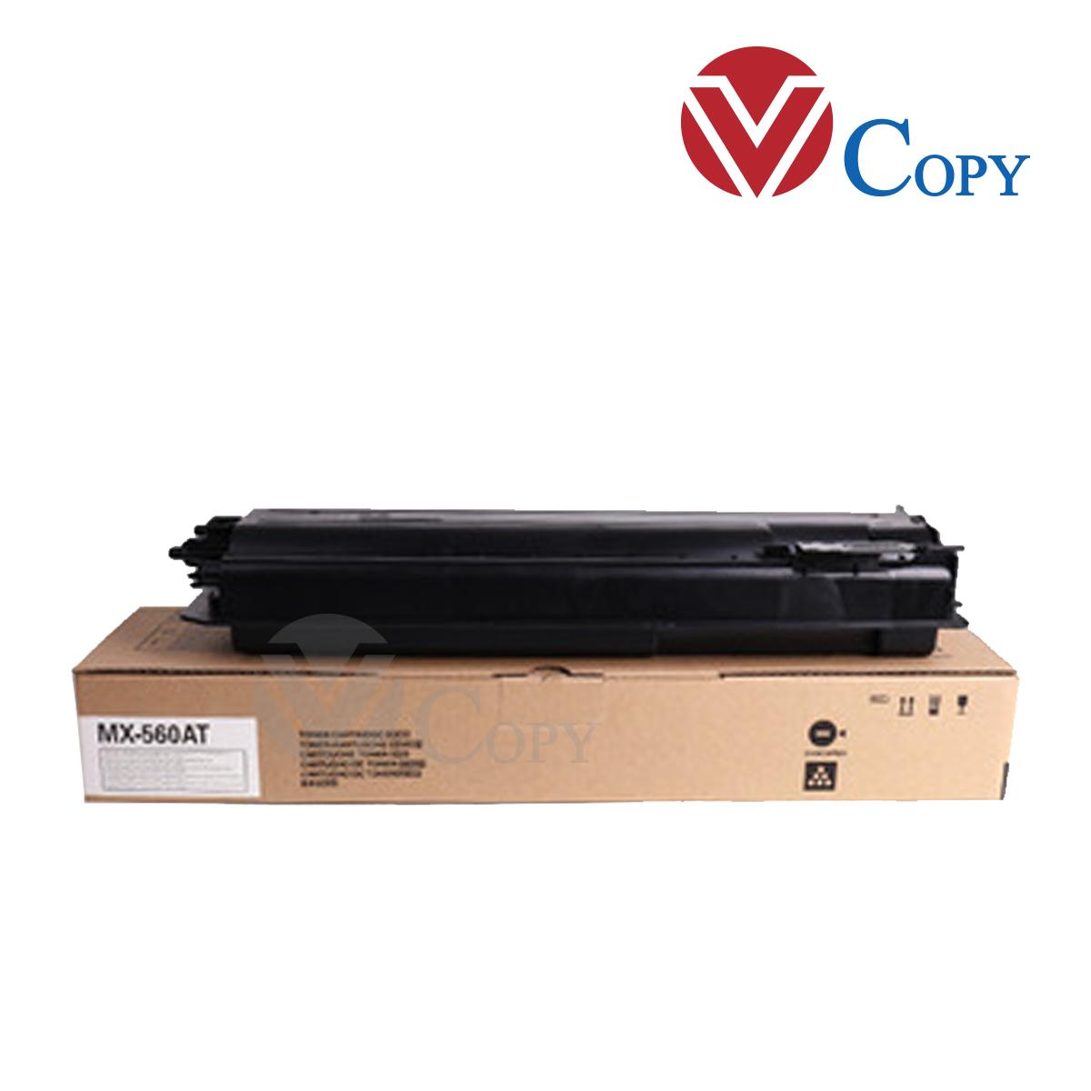 Mực Thương hiệu dùng cho máy Photocopy Sharp MX-M464N/MX-M564N - Cụm Mực MX-560AT _ Trọng lượng 500g