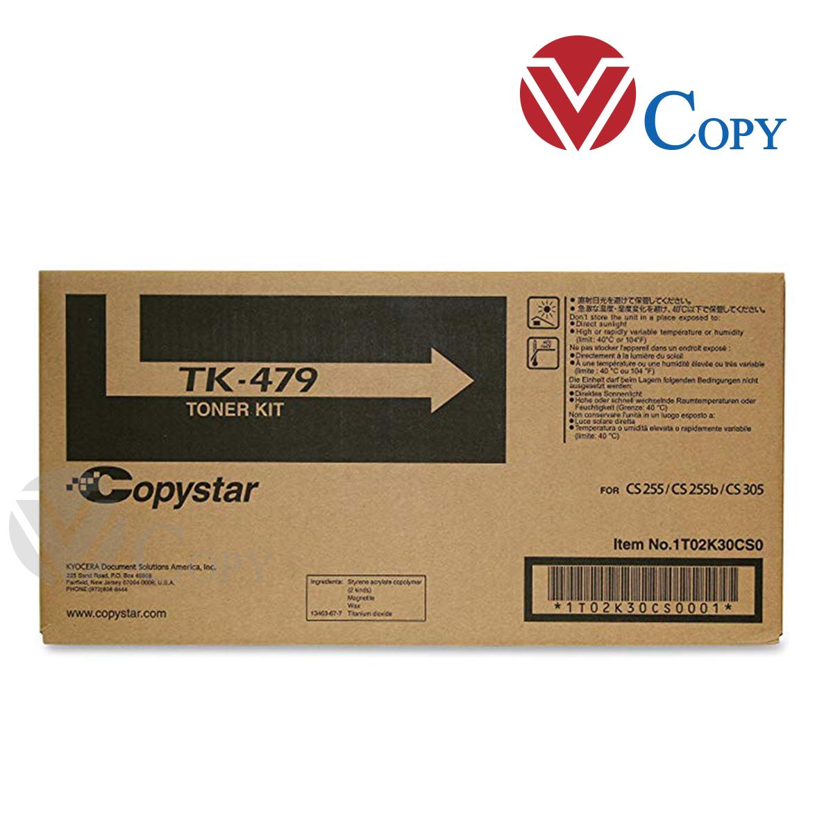 Mực Thương hiệu dùng cho máy Photocopy Kyocera FS 6525/ 6530/ 6020/ 6025/ 6030- Hộp mực TK 479 (450g)