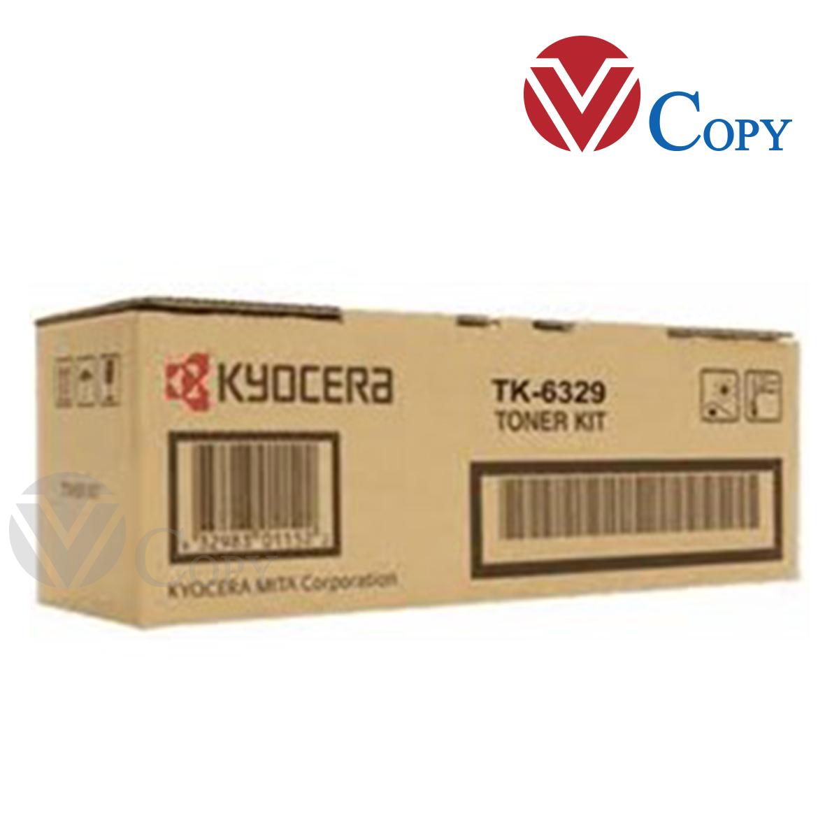 Mực Thương hiệu dùng cho máy Photocopy Kyocera TASKalfa 4002i/ 5002i/ 6002i - Hộp mực TK 6329