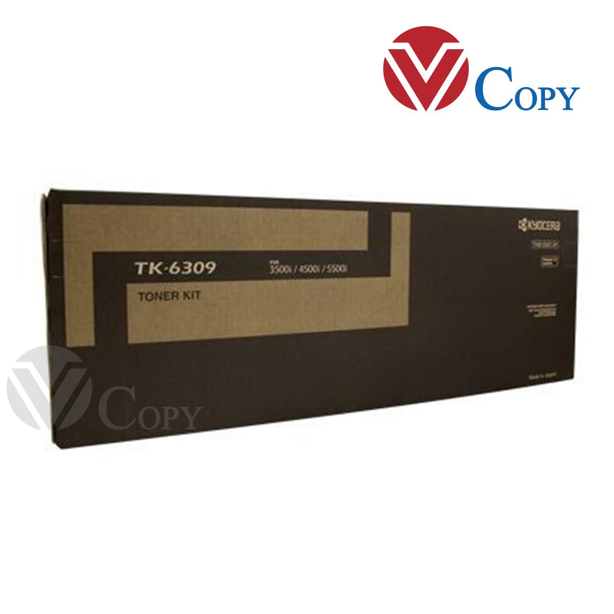 Mực Thương hiệu dùng cho máy Photocopy Kyocera 3500i/ 4500i/ 5500i / 3501i/ 4501i/ 5501i- Hộp mực TK6309 (loại 650g)
