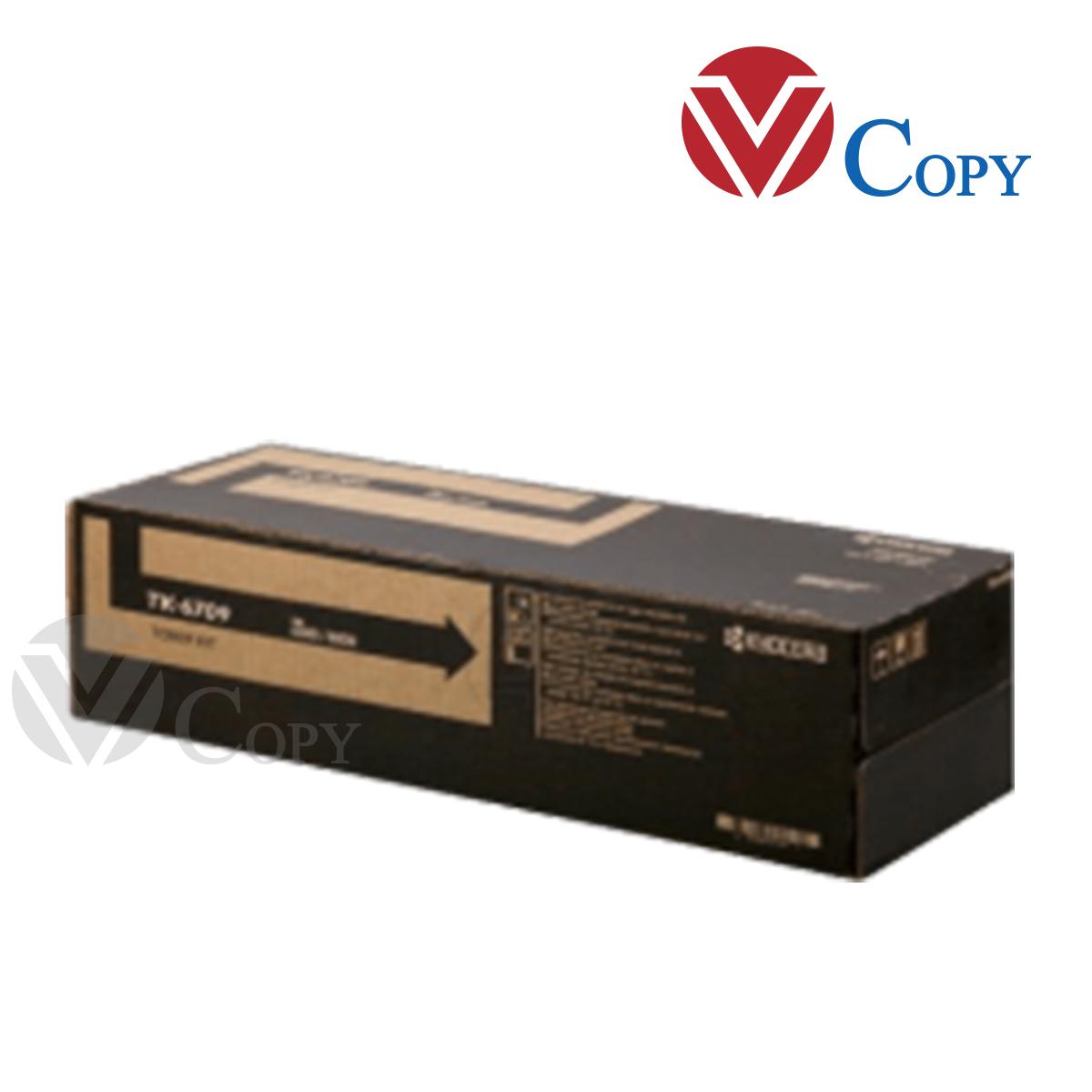 Mực Thương hiệu dùng cho máy Photocopy Kyocera 6500i / 6501i / 8000i / 8001i - Hộp mực TK6709
