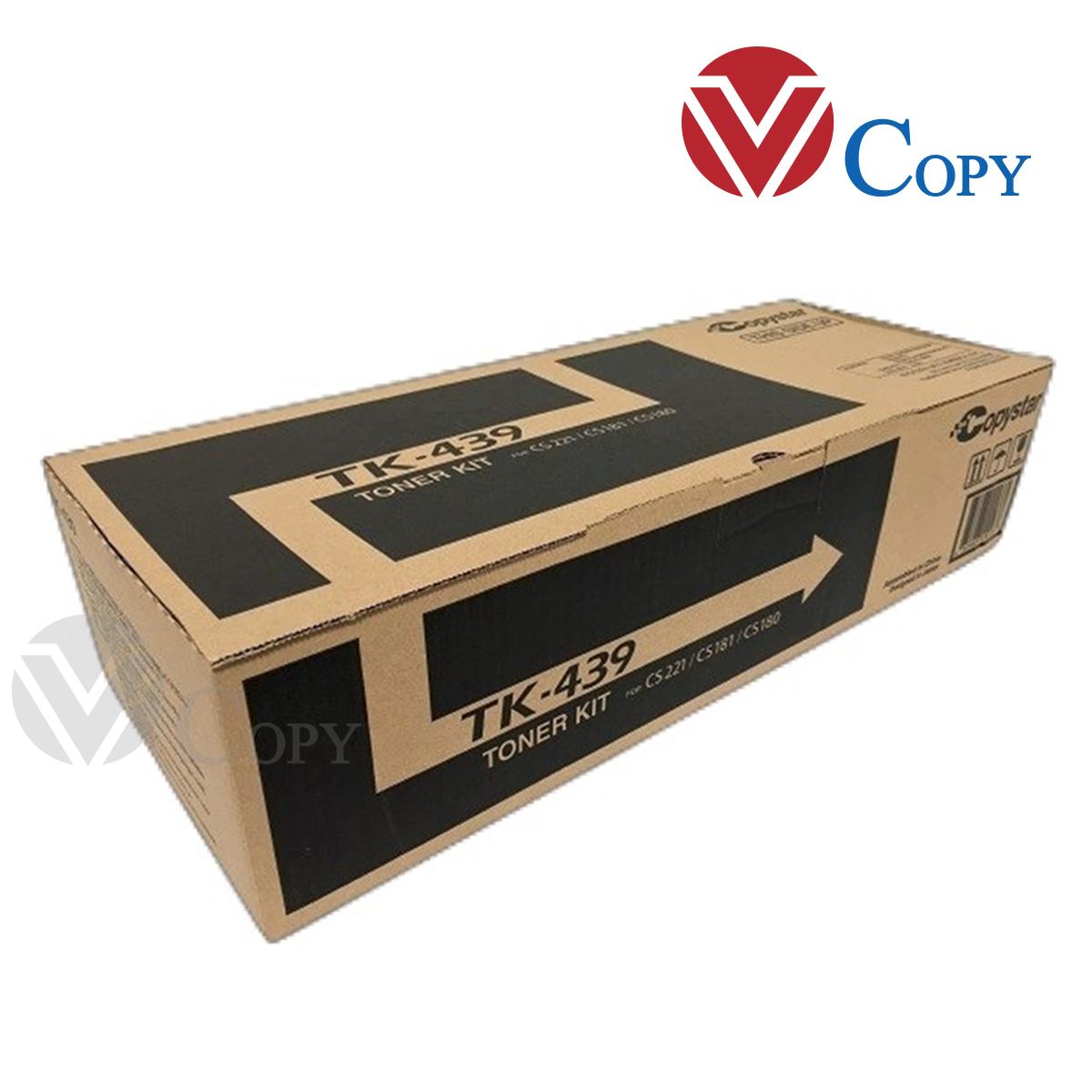 Mực Thương hiệu dùng cho máy Photocopy Kyocera TASKalfa 180/ 181/ 220/ 221- Hộp mực TK 439