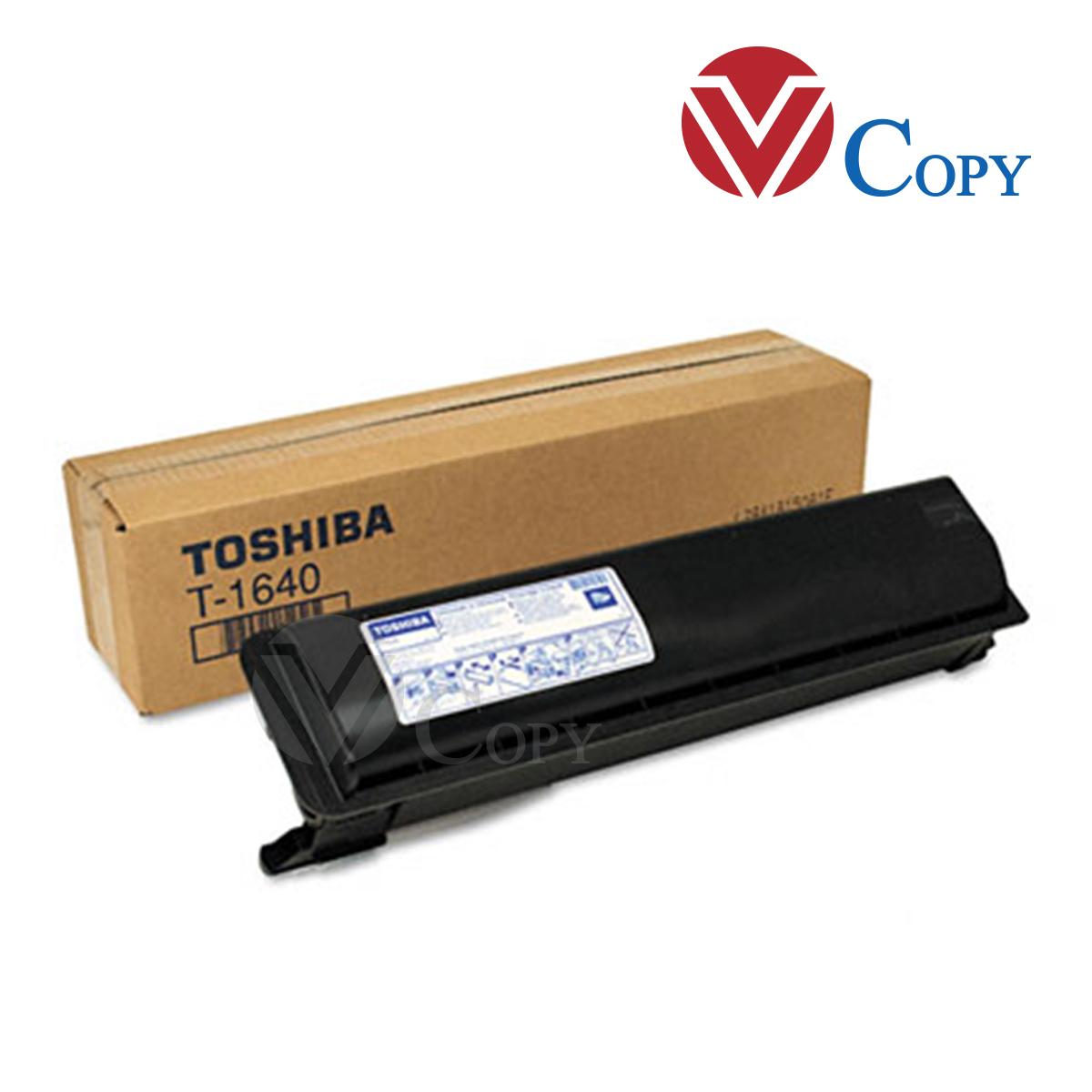 Mực Thương hiệu dùng cho máy photocopy Toshiba T1640  EStudio 163 E165 E166 E167/168/169/203/203L/205/205SE/206/207