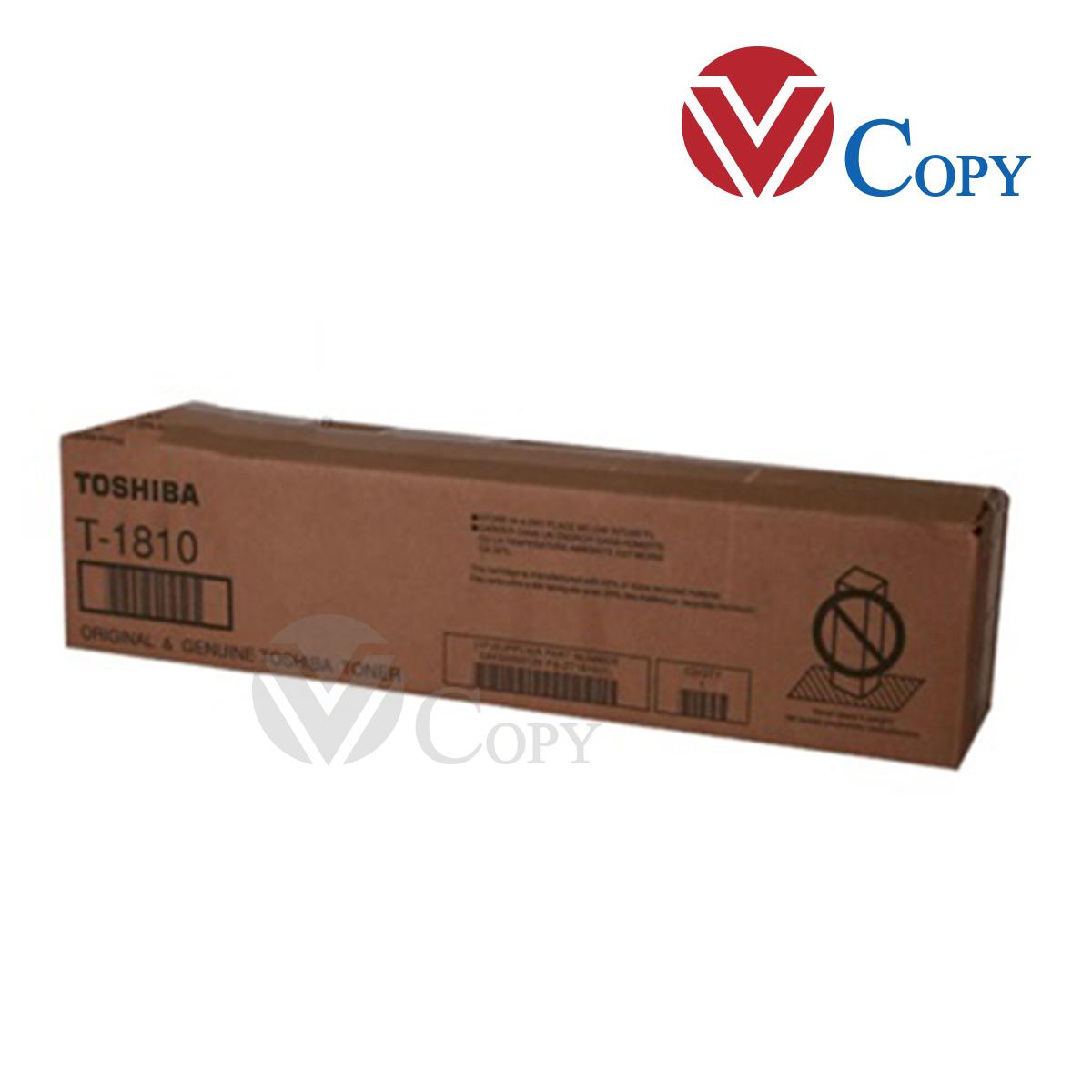Mực Thương hiệu dùng cho máy Toshiba Toshiba E Studio 181/182/212/242 - Mã mực T1810 -  Trọng lượng 500g