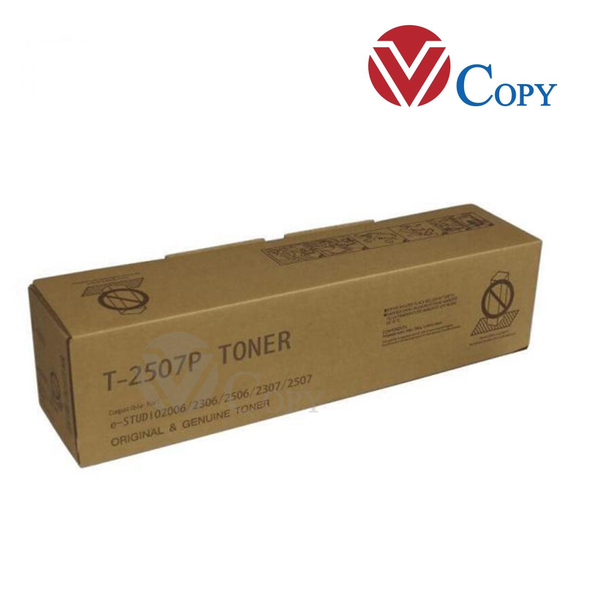 Mực Thương hiệu dùng cho máy photo Toshiba  E2006/2306/2506/2307/2507 _ T-2507P _Trọng lượng 250g